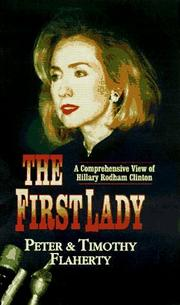 Cover of: The first lady