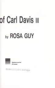 Cover of: The ups and downs of Carl Davis III