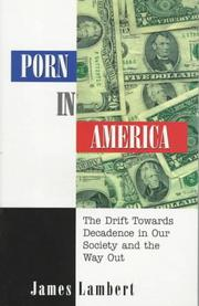 Cover of: Porn in America by James L. Lambert