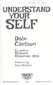 Cover of: Understand your self