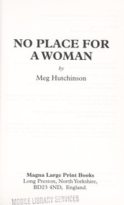 Cover of: No Place for a Woman | Meg Hutchinson