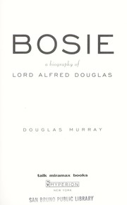 Cover of: Bosie | Murray, Douglas