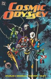 Cover of: Cosmic odyssey | Jim Starlin