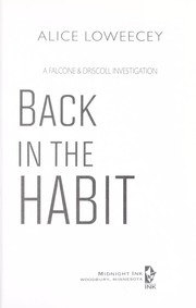 Cover of: Back in the habit | Alice Loweecey