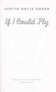 Cover of: If I could fly