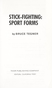 Cover of: Stick fighting: sport forms |