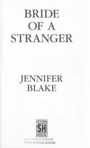 Bride of a stranger