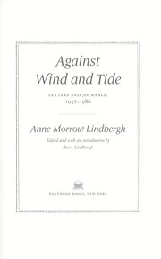 Cover of: Against wind and tide