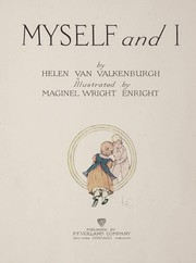 Cover of: Myself and I | Helen Van Valkenburgh
