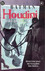 Cover of: Batman/Houdini