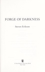 Cover of: Forge of darkness