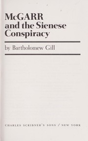 Cover of: McGarr and the Sienese conspiracy