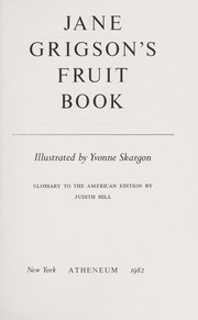 Fruit book by Jane Grigson