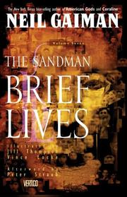 Cover of: Sandman, Vol. 7: Brief Lives