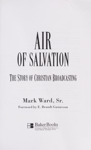Cover of: Air of salvation | Ward, Mark