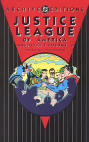 Cover of: Justice League of America Archives, Vol. 3 | DC Comics