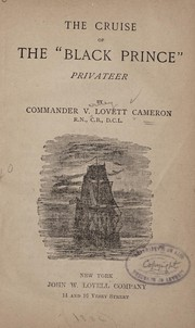 "Cover of: The cruise of the ""Black Prince,"""