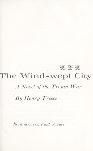 The windswept city : a novel of the Trojan War by