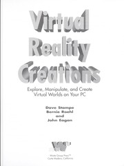 Cover of: Virtual reality creations | Dave Stampe