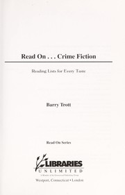 Cover of: Read On...Crime Fiction | Barry Trott