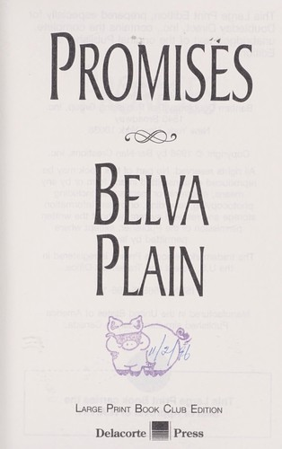 Promises [large print] by