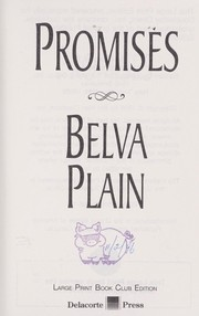 Cover of: Promises [large print] |