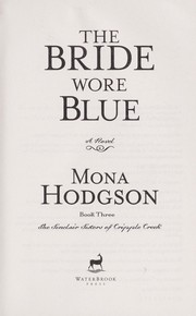 Cover of: The bride wore blue
