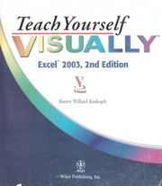 Cover of: Teach yourself visually Excel 2003
