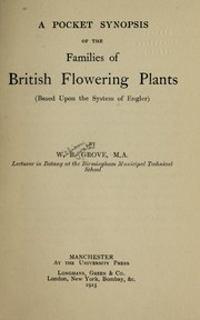 Cover of: A pocket synopsis of the families of British flowering plants