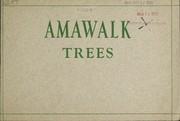 Cover of: Amawalk trees | Amawalk Nursery