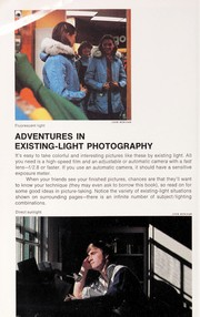 Cover of: Adventures in existing-light photography