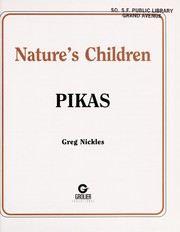 Cover of: Pikas