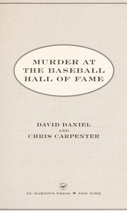 Cover of: Murder at the Baseball Hall of Fame