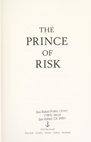 Cover of: The Prince of Risk