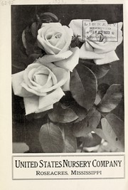 Cover of: United States Nursery Company [catalog] | United States Nursery Company (Roseacres, Miss.)