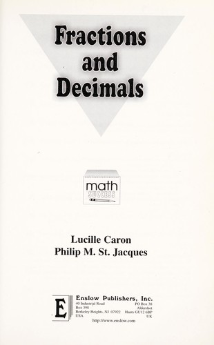 Fractions and Decimals [electronic resource] by