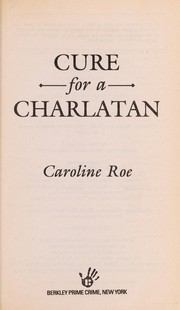 Cover of: Cure for a charlatan |