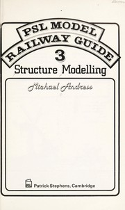 PSL model railway guide by Michael Andress