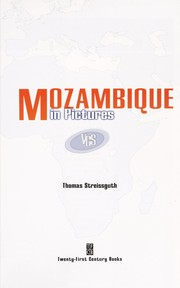 Cover of: Mozambique in pictures | Thomas Streissguth