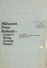 Cover of: Reduced prices midseason 1924 | Henry S. Cooper (Firm)