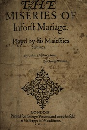 Cover of: The miseries of inforst mariage