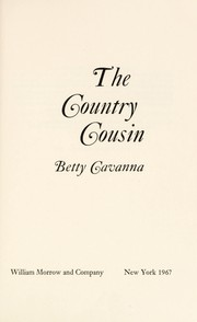Cover of: The Country Cousin