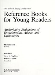 Cover of: Reference books for young readers |