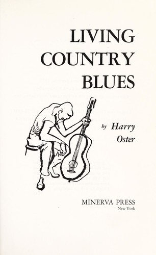 Living country blues by Harry Oster