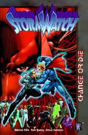 StormWatch by Warren Ellis