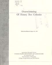 Cover of: Overwintering of honey bee colonies