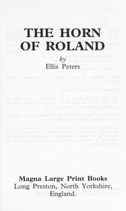 Cover of: The horn of Roland