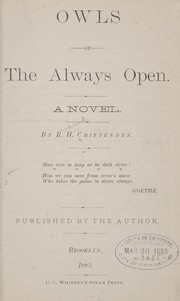 Cover of: Owls of the Always Open