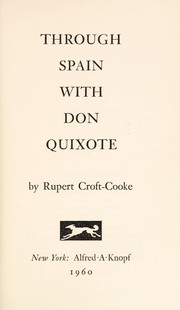 Cover of: Through Spain with Don Quixote