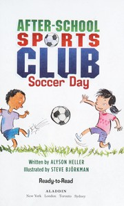 The After School Sports Club by Alyson Heller